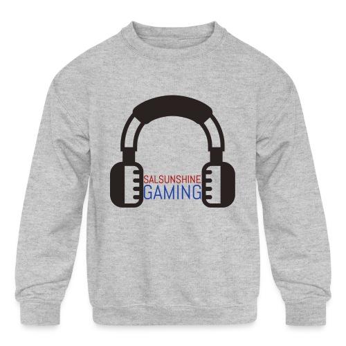 salsunshine gaming logo - Kids' Crewneck Sweatshirt