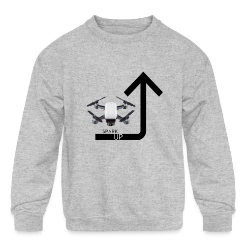 Spark Up - Kids' Crewneck Sweatshirt