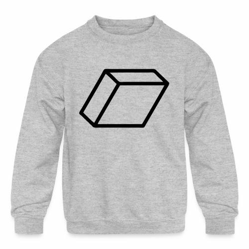 rhombus3 ai - Kids' Crewneck Sweatshirt