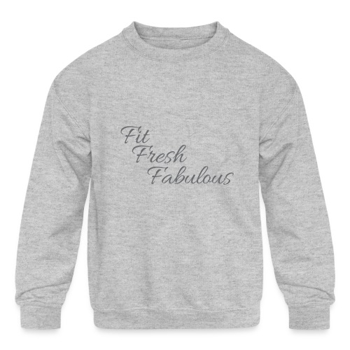 FFF Tank - Kids' Crewneck Sweatshirt
