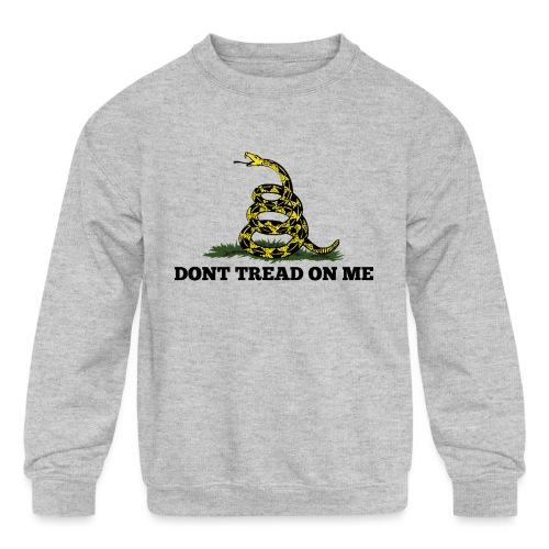 GADSDEN DONT TREAD ON ME - Kids' Crewneck Sweatshirt
