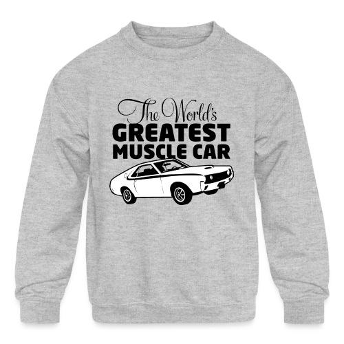 Greatest Muscle Car - Javelin - Kids' Crewneck Sweatshirt