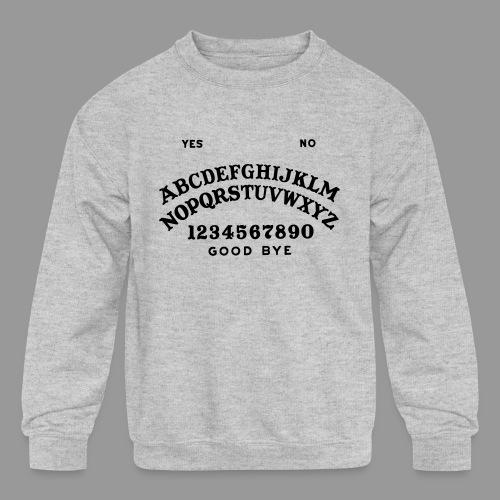 Talking Board - Kids' Crewneck Sweatshirt
