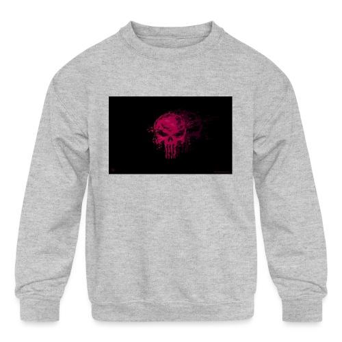 hkar.punisher - Kids' Crewneck Sweatshirt