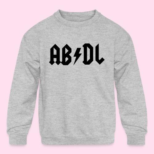 ABDL Rock - Kids' Crewneck Sweatshirt