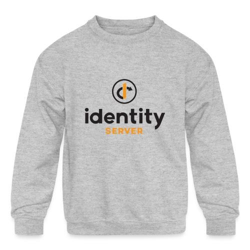 Idenity Server Mug - Kids' Crewneck Sweatshirt