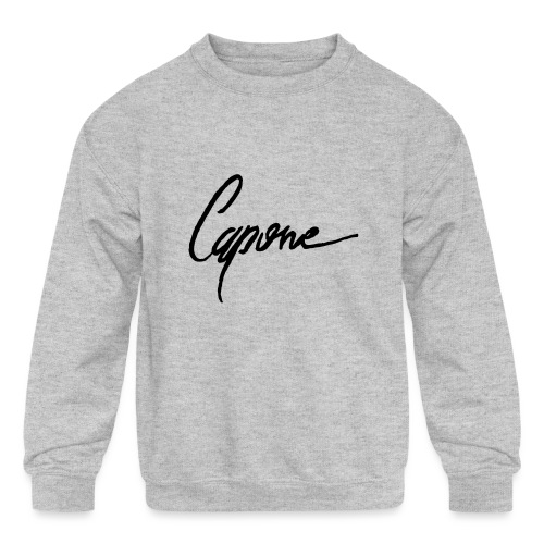 Capone - Kids' Crewneck Sweatshirt