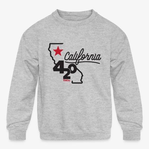 California 420 - Kids' Crewneck Sweatshirt
