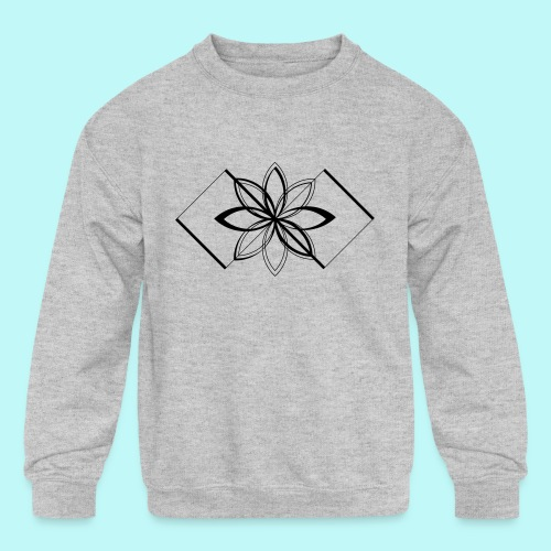 Colour Me DAIZEY Blue - Kids' Crewneck Sweatshirt