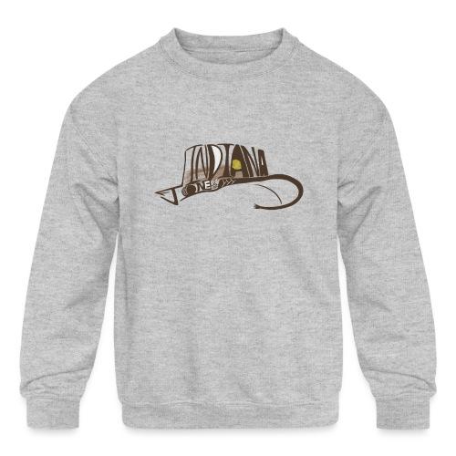 Wear The Hat - Kids' Crewneck Sweatshirt