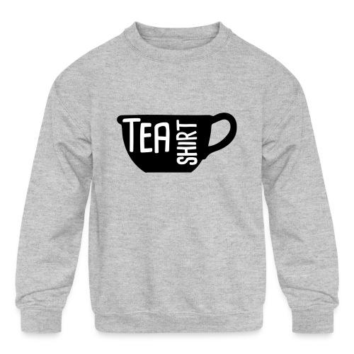 Tea Shirt Black Magic - Kids' Crewneck Sweatshirt
