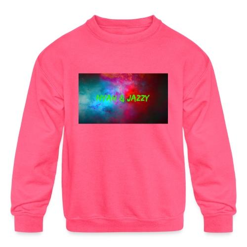 NYAH AND JAZZY - Kids' Crewneck Sweatshirt