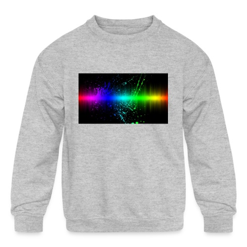 Keep It Real - Kids' Crewneck Sweatshirt