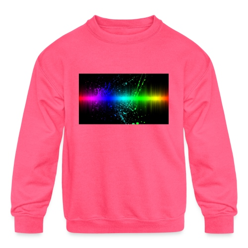 Keep It Real - Kids' Crewneck Sweatshirt