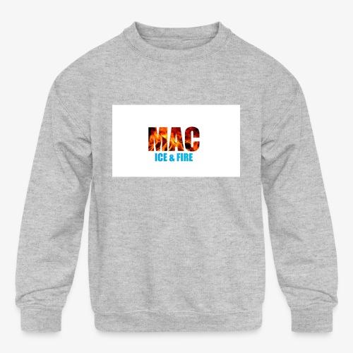 ICE FIRE - Kids' Crewneck Sweatshirt