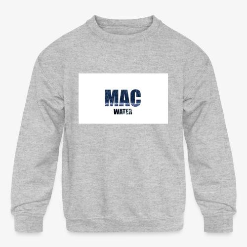 WATER - Kids' Crewneck Sweatshirt