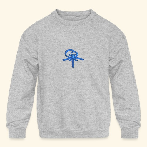 Back LOGO LOB - Kids' Crewneck Sweatshirt