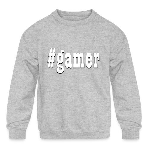 Perfection for any gamer - Kids' Crewneck Sweatshirt