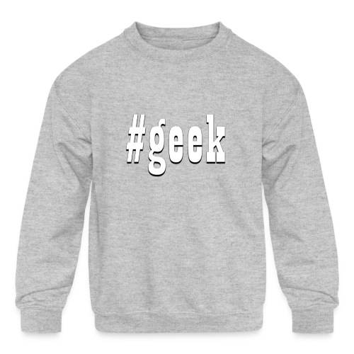 Perfect for the geek in the family - Kids' Crewneck Sweatshirt