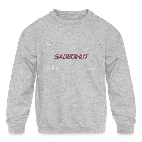 SadboiHut Updated - Kids' Crewneck Sweatshirt