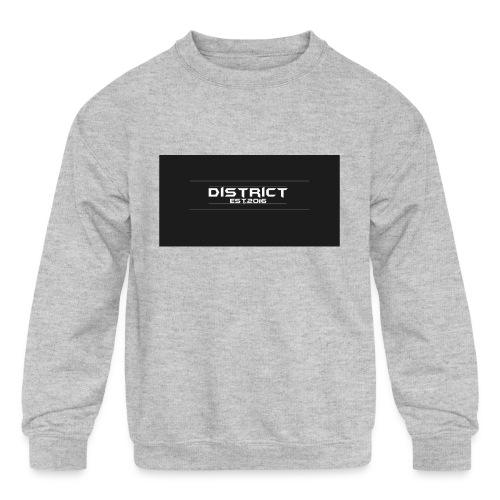 District apparel - Kids' Crewneck Sweatshirt
