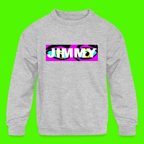 box - Kids' Crewneck Sweatshirt