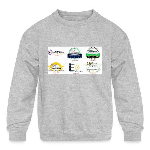Winners Group Home - Kids' Crewneck Sweatshirt