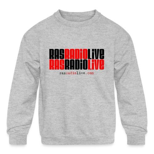 rasradiolive png - Kids' Crewneck Sweatshirt