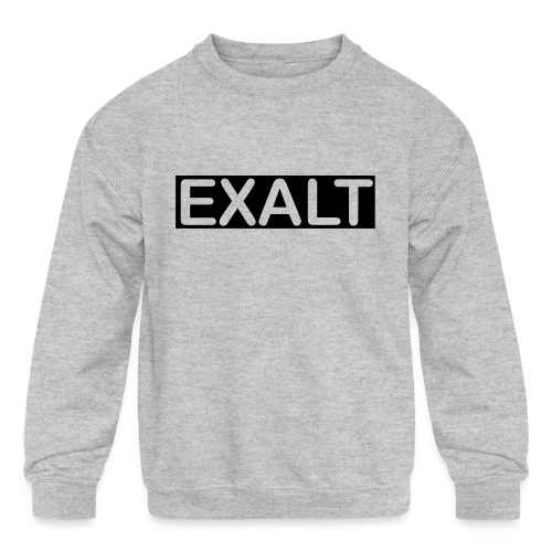 EXALT - Kids' Crewneck Sweatshirt