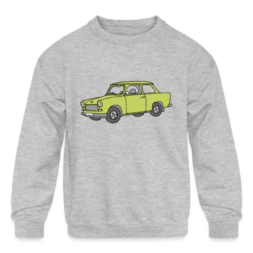 Trabant (baligreen car) - Kids' Crewneck Sweatshirt