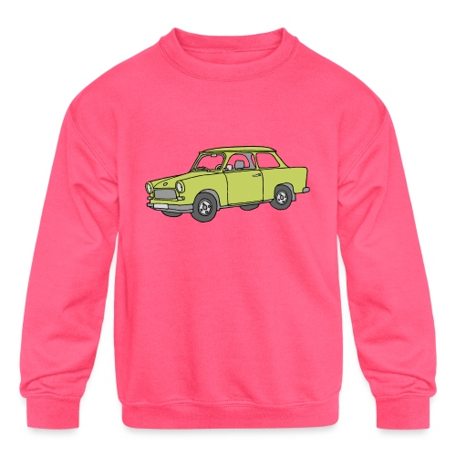 Trabant (baligreen car) - Kids' Crewneck Sweatshirt