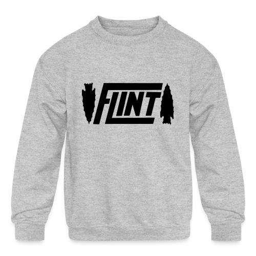 Flint Arrowhead - Kids' Crewneck Sweatshirt