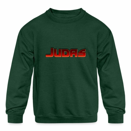 Judas - Kids' Crewneck Sweatshirt