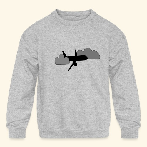 plane - Kids' Crewneck Sweatshirt