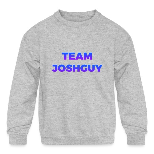 Team JoshGuy - Kids' Crewneck Sweatshirt