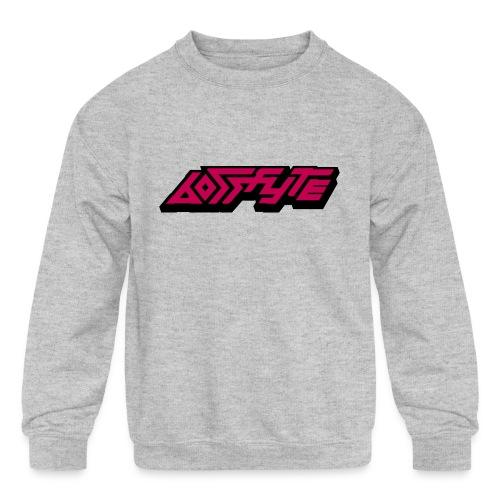 Text Logo - Kids' Crewneck Sweatshirt