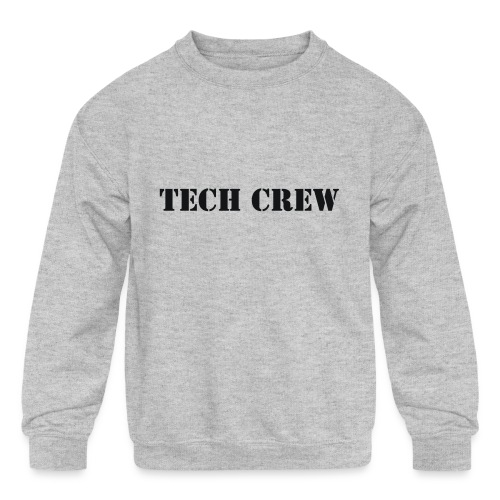 Tech Crew - Kids' Crewneck Sweatshirt