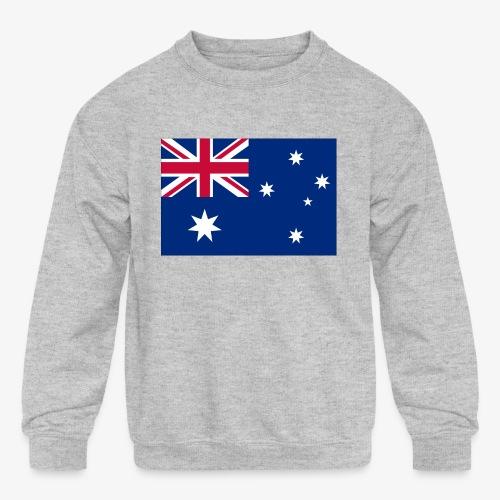 Bradys Auzzie prints - Kids' Crewneck Sweatshirt