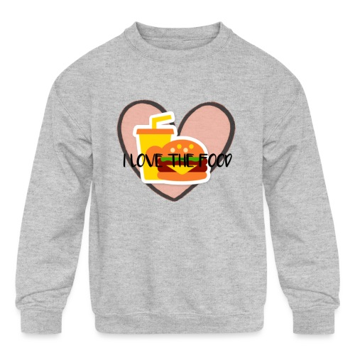 Food - Kids' Crewneck Sweatshirt