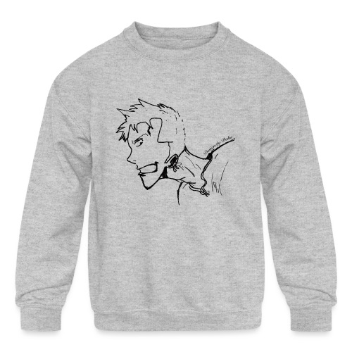 Design by Daka - Kids' Crewneck Sweatshirt