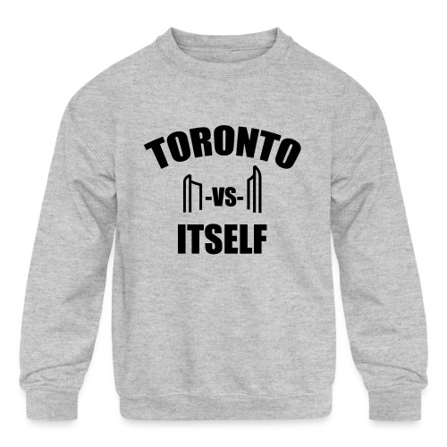 6 Versus 6 - Kids' Crewneck Sweatshirt