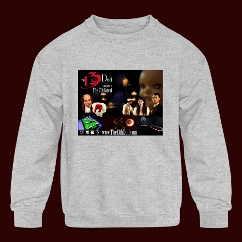 The 13th Doll Cast and Puzzles - Kids' Crewneck Sweatshirt