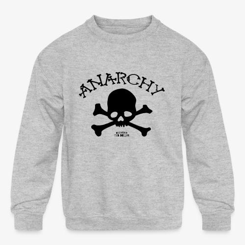 Anar Skull black - Kids' Crewneck Sweatshirt