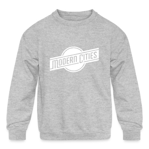 Modern Cities - Kids' Crewneck Sweatshirt