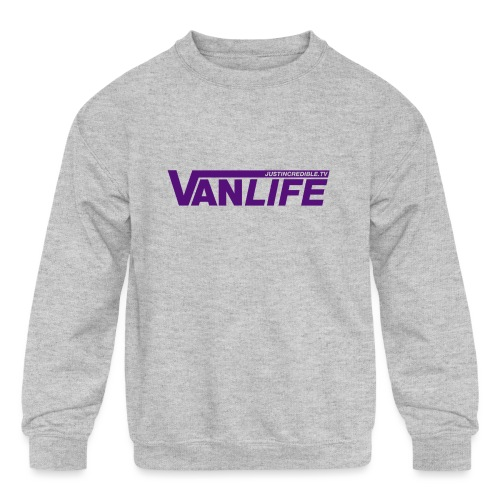Vanlife - Kids' Crewneck Sweatshirt