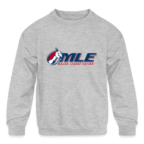 Major League Eating Logo - Kids' Crewneck Sweatshirt