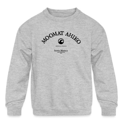 Moomat Ahiko classic black 1 - Kids' Crewneck Sweatshirt