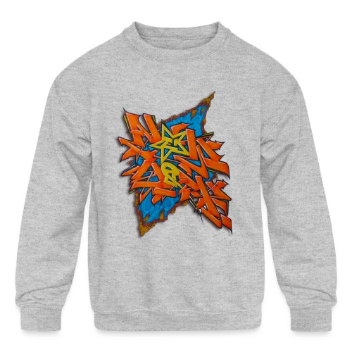 Artgomez14 - NYG Design - Kids' Crewneck Sweatshirt