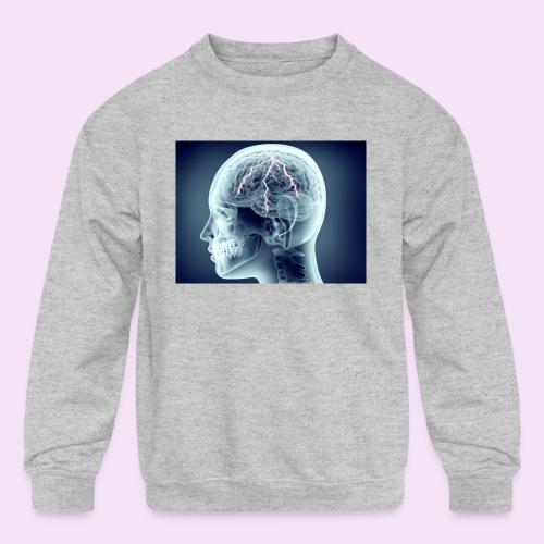 Recharge - Kids' Crewneck Sweatshirt