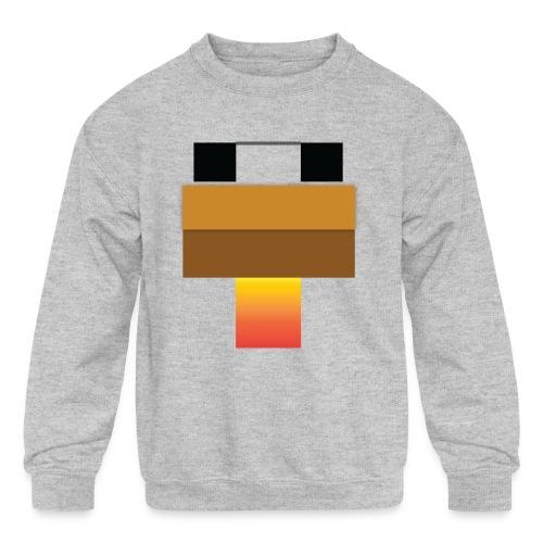 chicken Head - Kids' Crewneck Sweatshirt